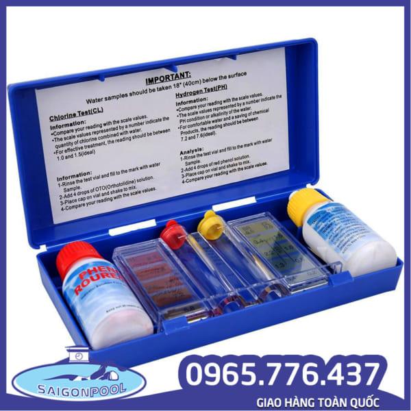 Bộ kiểm tra độ pH nước hồ bơi